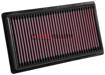 Picture of K&N Drop In Air Filter C-HR 18+ / Corolla HB19+ - 33-3080