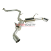 Picture of Remark Black Chrome Tip cover Catback Exhaust C-HR 17+ - RK-C2063T-02B