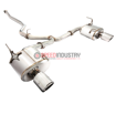 Picture of Remark Carbon Tip Cover Catback Exhaust STI / WRX 15+ - RK-C2076S-01C