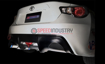 Picture of Tomei Carbon Rear Bumper Cover (Left) 13+ FRS / BRZ