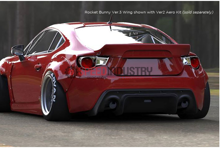 Picture of GReddy X Rocket Bunny V3 Rear Wing-FRS/86/BRZ
