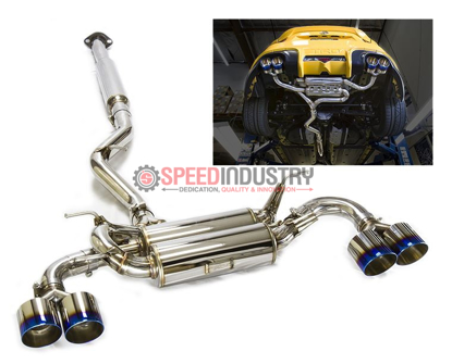 Picture of MXP SP Quad Tip Cat back Exhaust w/ Burnt Tips FRS/BRZ/86