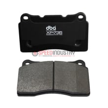Picture of DBA XP+735 FRONT Circuit Performance Brake Pads - FRS/BRZ/86 VENTED REAR DISC - DB7880XP+