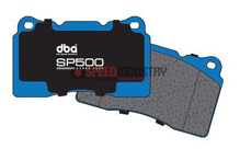 Picture of DBA - SP500 Street Performance Brake Pads (FRONT) FRS/BRZ/86 Vented Rear Disc