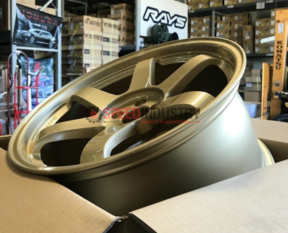 Picture of Volk TE37SL 18X9.5 +40 5x100 Gold Wheel