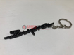 """Picture of Real Carbon Fiber """"Supra"""" Logo Keychain"""