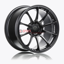 Picture of Titan 7 T-R10 18x9 +38 5x108 Machine Black- Focus