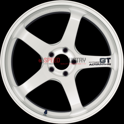 Picture of Advan Racing GT PV 19in Racing White-A90 MKV Supra GR 2020+ (Front and Rear Fitment)