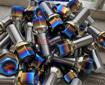 Picture of P2uned Titanium Lug Bolt (Burnt) - A90 MKV Supra GR 2020+