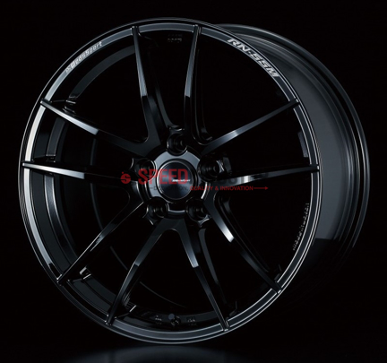 Picture of Weds RN-55M 18x9.5+25 5x114.3 Gloss Black
