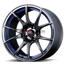 Picture of WedsSport SA10R 18x7.5 +35 5x114.3 Blue Light Chrome