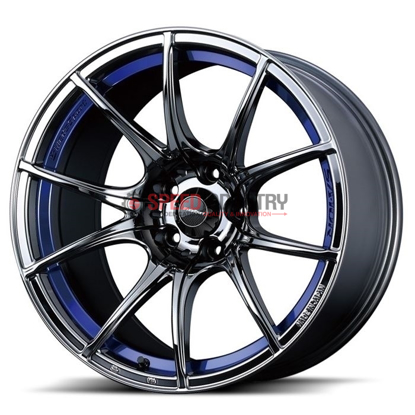 Picture of WedsSport SA10R 18x10.5+12 5x114.3 Blue Light Chrome