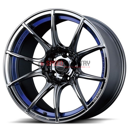 Picture of WedsSport SA10R 18x10.5+25 5x114.3 Blue Light Chrome