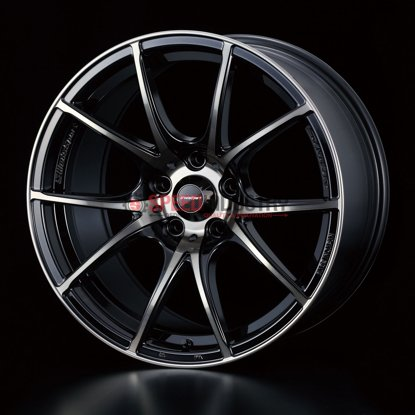 Picture of WedsSport SA10R 18x10.5+12 5x114.3 Zebra Black Clear