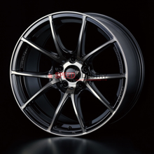 Picture of WedsSport SA10R 18x10.5+25 5x114.3 Zebra Black Clear