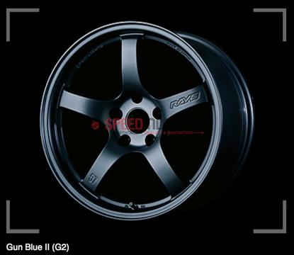 Picture of Gram Lights 57CR Gun Blue 19x10.5+35 5x112 A90 MKV Supra GR 2020+ (Rear Fitment)