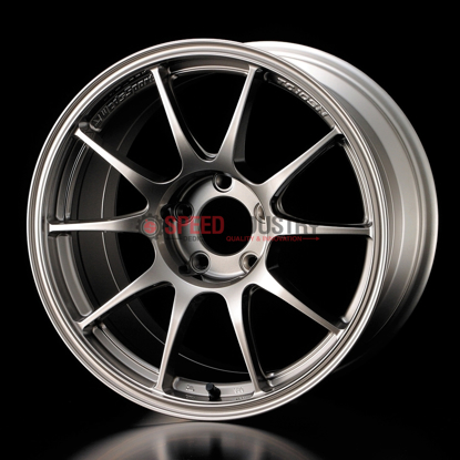 Picture of Weds TC-105N 18x9.5+35 5x114.3 Titanium Silver