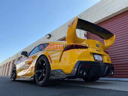Picture of Fly1 Motorsports x Auto Tuned S1 Rear Spats-A90 MKV Supra GR 2020+