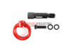 Picture of Perrin Rear Tow Hook (Red)-A90 MKV Supra GR 2020+