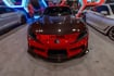 Picture of SEIBON TS-Style Red Dry Carbon Fiber Hood-A90 MKV Supra GR 2020+