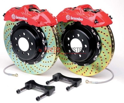 Picture of Brembo GT Systems FRS/86/BRZ 4 POT 345x28 Front Brake Kit