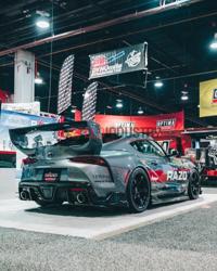 Picture of Fly1 Motorsports x Auto Tuned Samurai Rear Trunk Spoiler-A90 MKV Supra GR 2020+