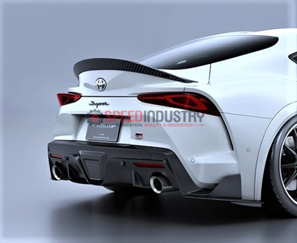 Picture of Artisan Spirits Black Label FRP Rear Trunk Spoiler-A90 MKV Supra GR 2020+
