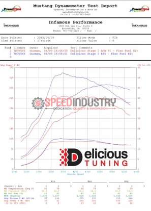 Picture of Delicious Tuning STI Stage 2 Flex Fuel Tune