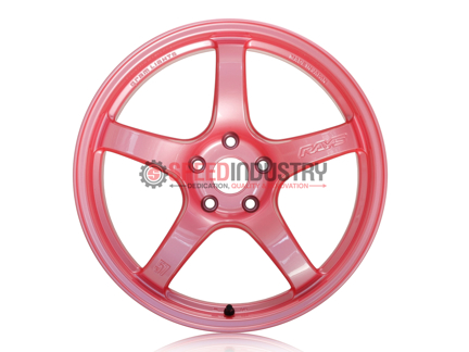 Picture of Gram Lights 57CR 18x9.5+22 5x114 Sakura Pink *Discontinued*