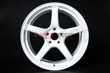 Picture of Gram Lights 57CR 18x9.5+38 5x114 Ceramic White Pearl