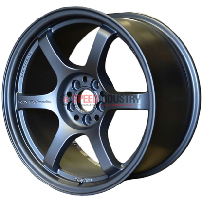 Picture of Gram Lights 57DR 18x9.5+12 5x114 Gun Blue 2