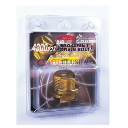 Picture of Project Kics Yellow Magnetic Drain Bolt M20x1.50