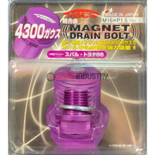 Picture of Project Kics Purple Magnetic Drain Bolt M16x1.5