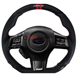 Picture of Buddy Club Sport Carbon Style Steering Wheel- WRX/STI 15+
