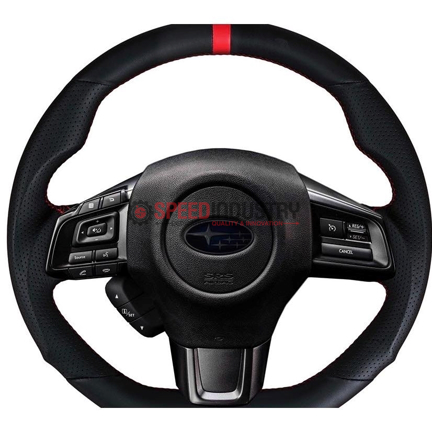 Picture of Buddy Club Sport Leather Steering Wheel- WRX/STI 15+