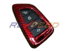 Picture of Supra 2020 Dry Carbon Key Fob Cover -Red Weave
