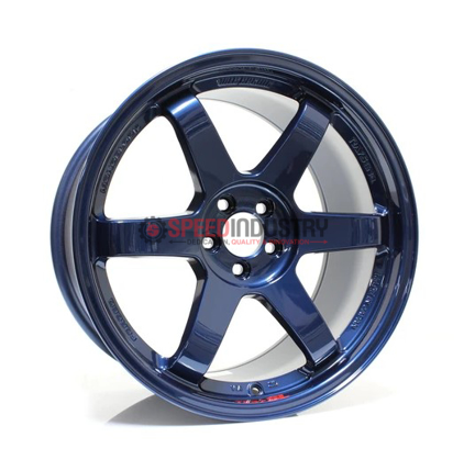 Picture of Volk TE37SL Mag Blue 19in Supra 2020+ (Front and Rear Fitment)