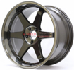 Picture of Volk TE37SL Pressed Double Black 19in Supra 2020+ (Front and Rear Fitment)