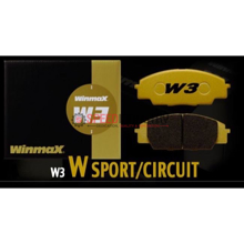 Picture of Winmax W3 Circuit Front Brake Pads - 17+ BRZ Perf. Pkg. (Brembo)