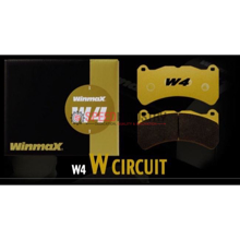 Picture of Winmax W4 Circuit Rear Brake Pads - 17+ BRZ Perf. Pkg. (Brembo)