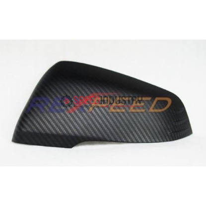 Picture of Rexpeed Matte Carbon Fiber Mirror Caps -GR Supra 20+(pair)