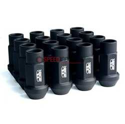 Picture of BLOX Racing Street Series 12x1.25 Lug Nuts-Flat Black