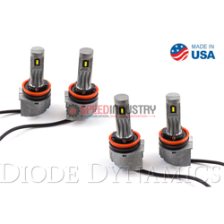 Picture of H8 SLF LED Yellow (Pair)
