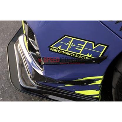 Picture of APR Front Bumper Upper Canards-WRX/STI 15-17