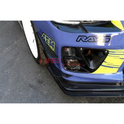 Picture of APR Front Bumper Upper Canard Kit-WRX/STI 15-17