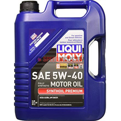 Picture of LIQUI MOLY 5L Synthoil Premium Motor Oil SAE 5W-40