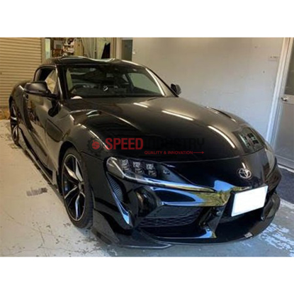 Picture of TOM'S Racing Front Bumper Diffuser (Dry Carbon)–GR Supra 20+