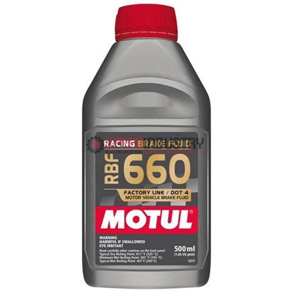 Picture of 101667  -MOTUL Brake Fluid - RBF 660  Size: 1/2L Bottle (16.9 fl.oz.)