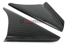 Picture of AMS Matte Carbon Anti-Wind Buffeting Kit- GR Supra 20+