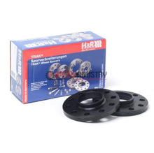 Picture of H&R Trak+ DR Wheel Spacers- GR Supra 20+ (Black)